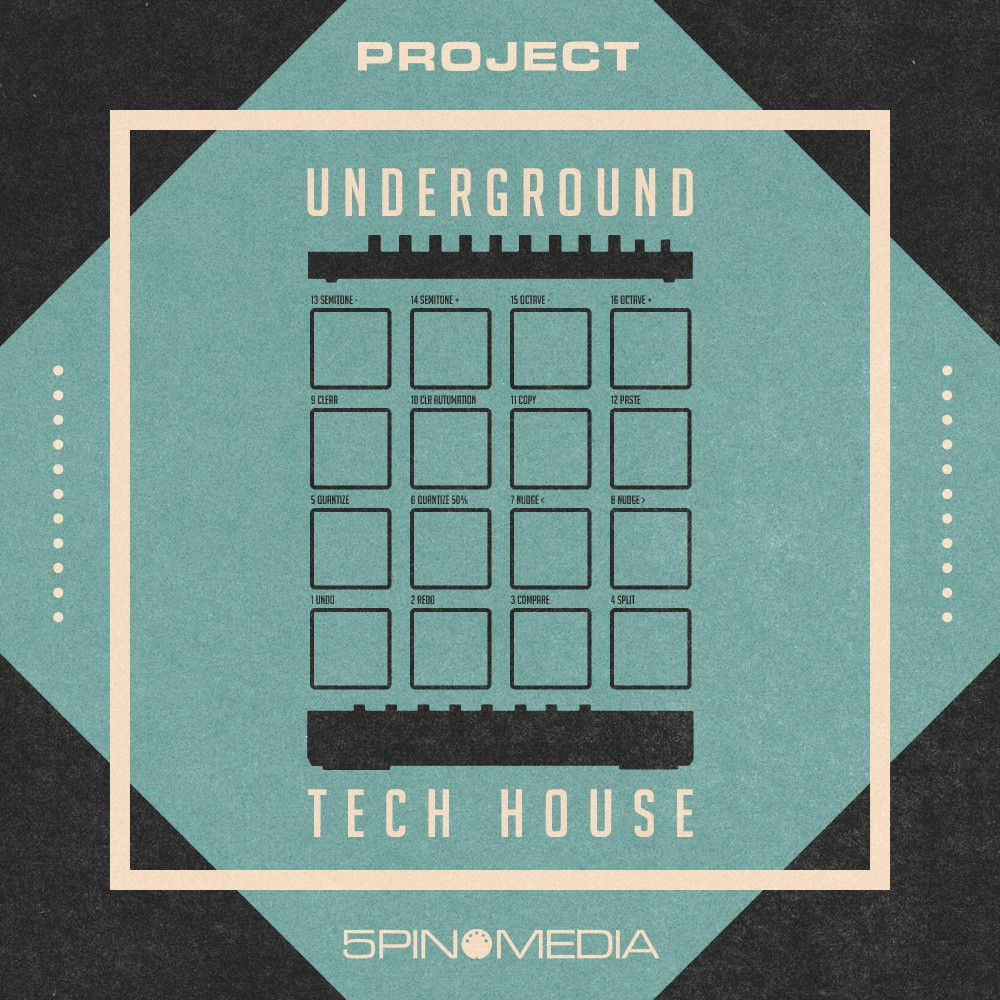 Project Underground Tech House by 5Pin Media