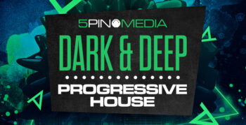 Dark & Deep Progressive House by 5Pin Media - Royalty Free Music Samples Presets MIDI Patches