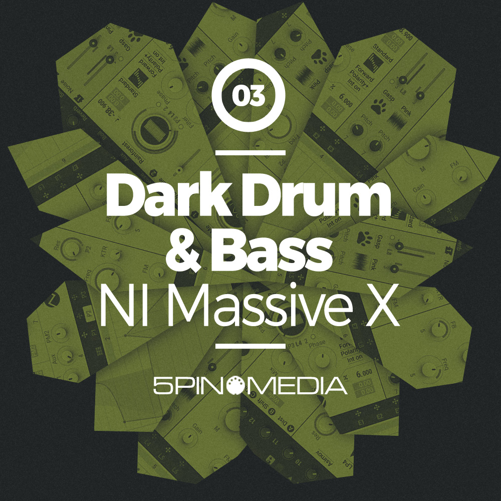 Drum & Bass Synth Presets for NI Massive X by 5Pin Media